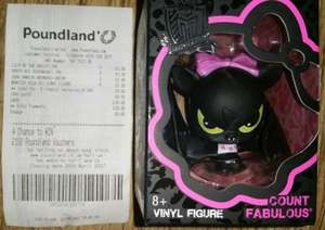 Monster High Vinyl Figures, Various, In Store £1 @ Poundland