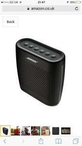 Bose SoundLink Colour Bluetooth Speaker - both Black and white versions (rrp £99.99) £69.99 @amazon