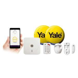 Yale alarm SR 330 smart home alarm and view kit £305.98 delivered at ideal world