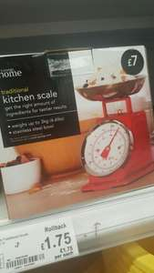 Traditional kitchen scale only £1.75 instore @ asda