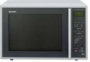 Sharp Combination Microwave, 40 Litre, 900 Watt, Silver - £134.99 @ Amazon