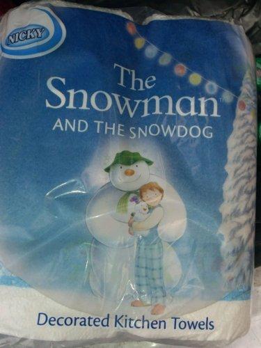 Nicky 2pk kitchen roll snowdog design 39p farmfoods