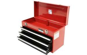 Halfords Professional 3 Drawer Metal Portable Tool Chest - £38.25