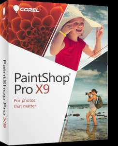 Paintshop Pro X9 Ultimate (in application upgrade deal) - £12.99