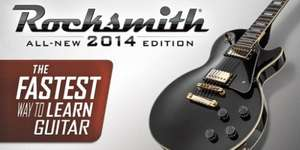 Rocksmith 2014 remastered (steam)  Gamersgate PC for £6