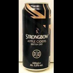 Strongbow 'British Dry' Cider 4x440ml £1.99 at Home Bargains