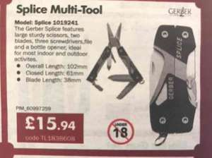Gerber Splice Multi-Tool £15.94 Delivered at CPC