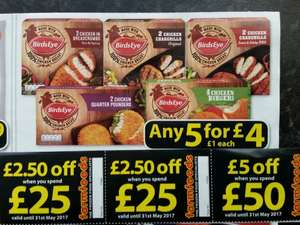 Farmfoods, BirdsEye chicken grills under 73p! Using vouchers