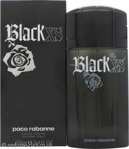 Paco Rabanne Black XS Eau de Toilette 100ml Spray Boots in stores only