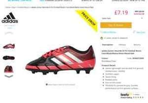 older kids adidas football boots £7.19 + £4.49 delivery (£12.18) reduced from £29.99 M&M