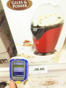 Giles & Posner Popcorn maker - £3.75 at Tesco INSTORE