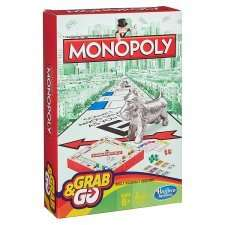Hasbro Grab & Go £5.00 Each (Guess Who / Connect 4 / Monopoly) instore / online @ Tesco Groceries