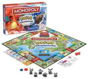 Pokemon Monopoly £18.98 (Possible free delivery) @ Groupon