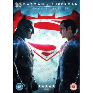 Batman v Superman: Dawn of Justice DVD £3 @ Smyths (Instore + Online)