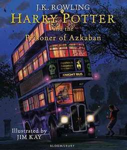 Harry Potter and the Prisoner of Azkaban: Illustrated Edition - available to pre-order £15 @ Amazon