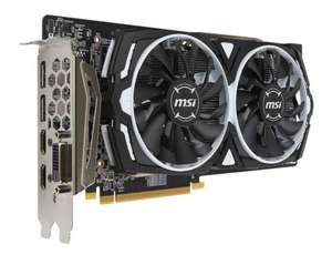 MSI ARMOUR OC RX 580 8GB £231.99 @ CCLonline
