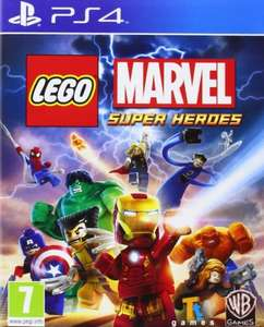 LEGO Marvel SuperHeroes (PS4) £12.99 @ base
