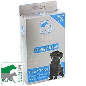 Extra strong Poo bags - 100 - 49p @ Home Bargains