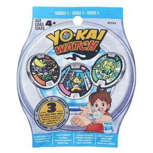 Yokai Watch Medals, £1 a bag and BOGOF, Smyths, Instore