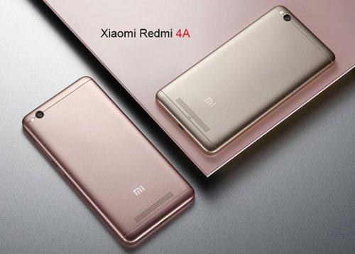 Original Xiaomi Redmi 4A 2GB 16GB Gold  £70.53 / £65 after 8% quidco cashback@ Ali Express / Xiaomi Dreami Store