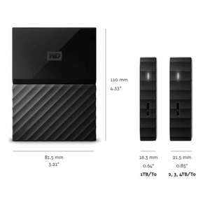 My Passport recertified 2TB USB 2&3 Portable Hard Drive - £54.99 delivered @ Western Digital