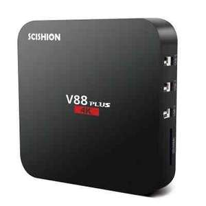 SCISHION V88 plus Android TV box 2 GB RAM 4K £23.50 @ gearbest