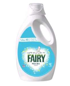 Fairy Non Bio Washing Liquid 60 Washes for £10 (Potentially £4.50 if you buy 7 more items)  at Asda