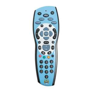 Man city sky+hd remote control £4.99 with possible extra £1.80 off with quidco @  sky accessories