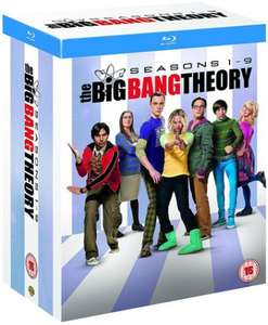 The Big Bang Theory: Seasons 1-9 Blu-Ray £22.87 @ HMV.ie