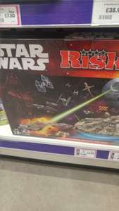 Risk - Star Wars Edition reduced from £34.99 to £13.99 @ The entertainer