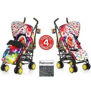cosatto supa pixelate pushchair £129.99 online4baby