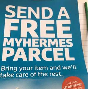Free Parcel Delivery @ Hermes Leeds / working nationally