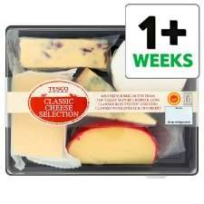 Tesco Classic Cheese Selection (490g) 2was £5.00 now £2.00 at Tesco
