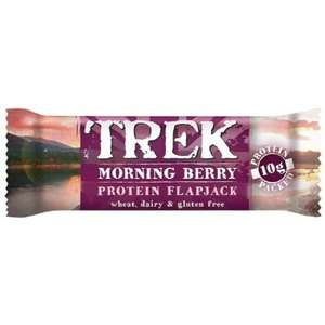Trek Morning Berry Protein Flapjack 29p @ Home Bargains