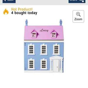 personalised dolls house £32.99 reduced from 99.99 studio try 040 for free p&p too @ Studio
