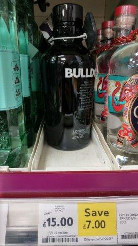 Bulldog Gin £15 Tesco