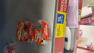 Wrap-It Twin pack clear tape and dispenser 10p instore  @Iceland