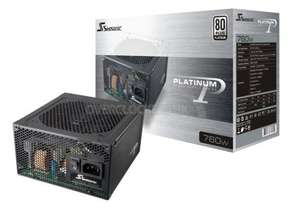 Seasonic P760W Platinum power supply £128.69 delivered @ overclockers