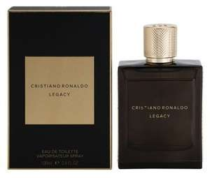 Cristiano Ronaldo Legacy, Eau de Toilette for Men 100 ml £14.90 + p&p - £18.89 notino.co.uk