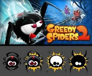 Greedy Spiders 2 (Android) - FREE @ Google PLAYSTORE