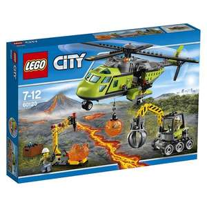 Lego City Volcano Supply Helicopter - £25.37  + fire station + others @ argos - up to 44% off!