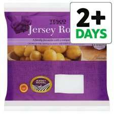 Jersey Royal Potatoes 450G  49p @ Tesco
