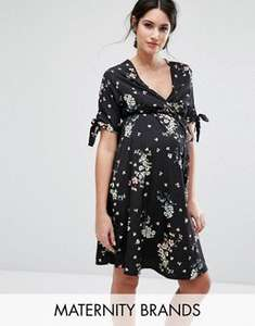 20% off all Maternity clothes at Asos using code eg New Look floral wrap maternity dress was £14.99 now £11.99