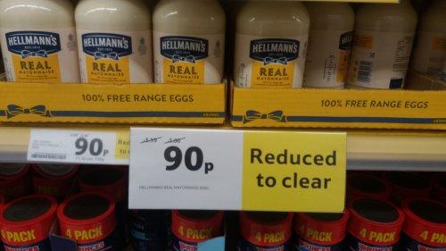 Hellmann's real mayonnaise 800g 90p instore - Tesco