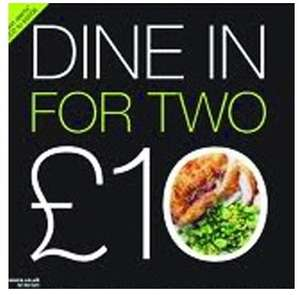 M&S Dine in 2 for £10 26th April - 2nd May