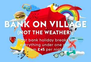 Village Hotels 2 nights with dinner included on the first night from £45 per night @ 28 Hotels