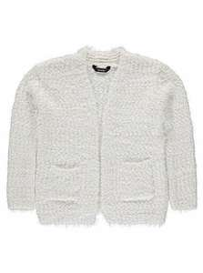 george asda cream eyelash texture cardigan for girls £6 down from £12 online