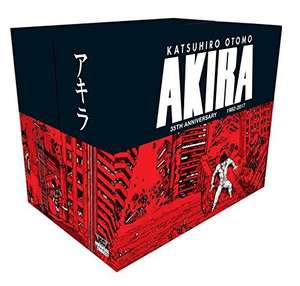 Akira 35th Anniversary Box Set - all six hardcovers + Akira Club for £95.25 at Amazon (pre-order)