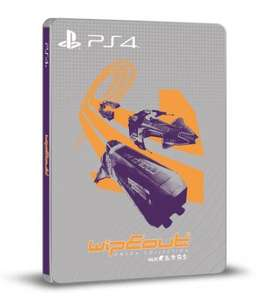 [PS4] WipEout Omega Collection Steelbook Edition + WipEout Team Themes - £29.86 - Shopto