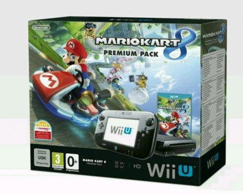 Wii U Console 32GB with Mario Kart 8 NEW (Nintendo Wii U) £178.99 @ Grainger games
